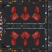 ZBrush UI Design 01