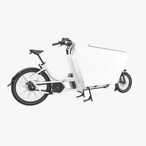 3D Urban Arrow white cargo large model