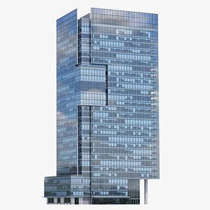 3D SHANGRI-LA from Vancouver V3 Lowpoly model