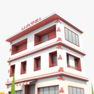 3D model Hotel