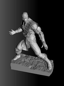 3D Subzero.MKX.STL.