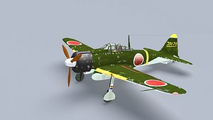 mitsubishi A6M2 Zero model