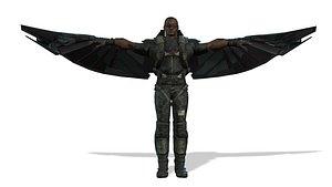 3D Falcon