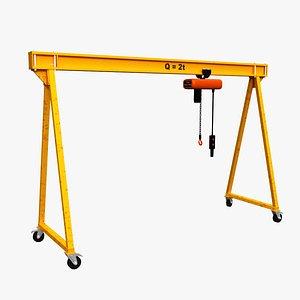 gantry crane portable model
