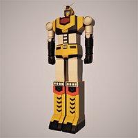 Rikushinou - God Sigma 3D Model