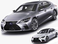 Lexus LS500 2021 hybrid and F-sport