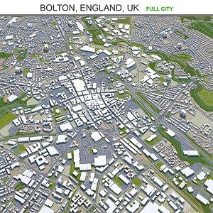 3D Bolton England UK