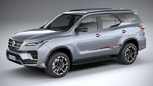 Toyota Fortuner TRD 2021 3D model