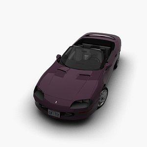 camaro 1993 93 3D