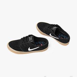 Nike SB zoom Janoski sneakers 3D model
