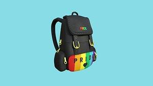 3D model Pride LGBT Backpack - Character Fashion Design