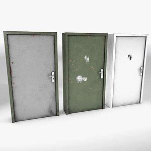 3D Basic Door model