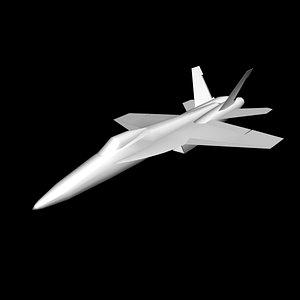 F-18 hornet basic shape model
