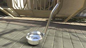 3D realistic ladle model
