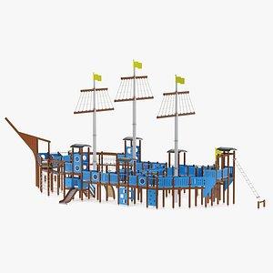 3D model Lapsset Santa Maria