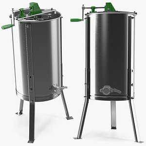 3D Stainless Steel Manual Honey Extractor