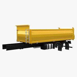 Dumpster Truck Structure 3D