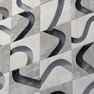 3D panel polygon