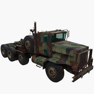 truck oshkosh 3D model