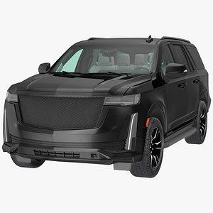 Luxury Large SUV 3D