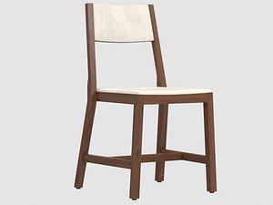 code chair crudo furniture 3D model