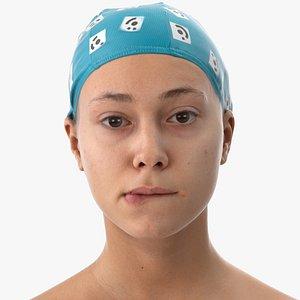 3D head human scan