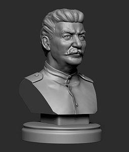 3D Stalin, Joseph Vissarionovich model