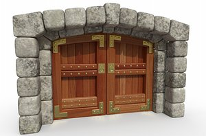 Fortress Entrance 3D model