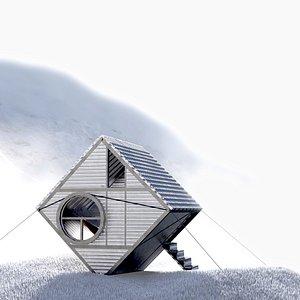 3D shelter mountai