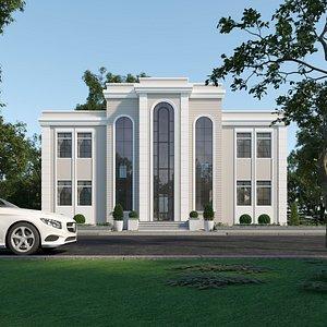 Classic villa corona 3D model