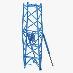crane wa frame 2 3D model