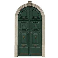 Entrance classic door 42