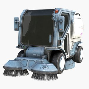 sweeping pbr clean 3D model