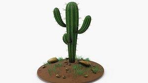 flower tree 3D model