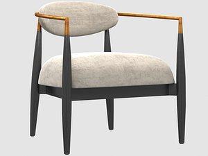 3D jagger lounge chair model