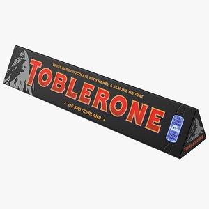 3D Toblerone Dark Chocolate Package