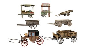 3D cart and carriage
