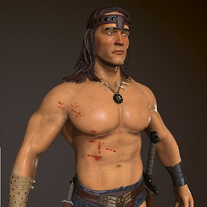 Conan The Destroyer 3D model