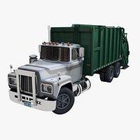 Generic garbage truck PBR