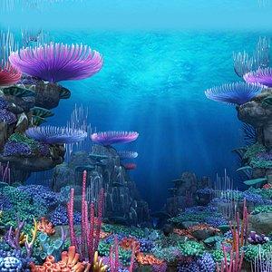 seabed ocean 3D