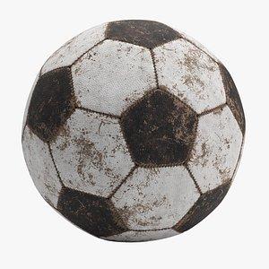 Soccer Ball Old 3D model