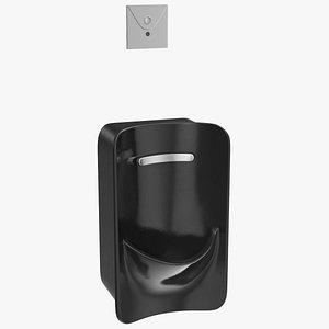 3D model spud urinal