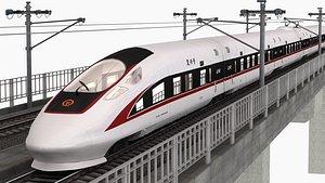 china railway standard 3D model