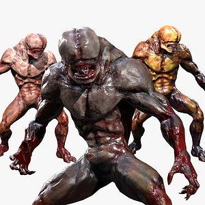 3D Big mutant model