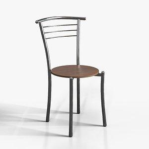 3D Sofia Dining Chair steel