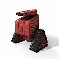 Sci-Fi robot v2