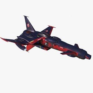 3D model Harlock Space wolf