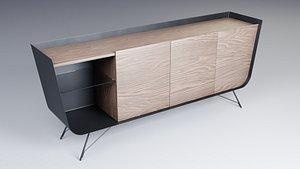 3D model sideboard cabinet