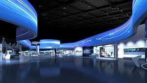 Exposition Lobby 3D model