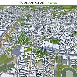 3D model Pozna Poland